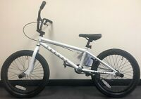 "Modern Trendy 20"" BMX Bicycle Freestyle Bike 1 Piece Crank White NEW 2020"
