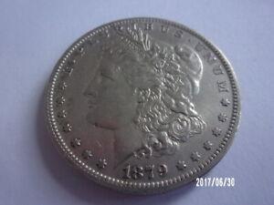 1879 0 MORGAN DOLLAR NEW ORLEANS MINT AU