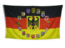 3x5 German Germany Eagle 16 States Eagle Rough Tex Knitted Flag 3'x5' Banner