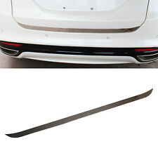 Fit For 13- Ford Fusion Chrome Rear Trunk Lid Boot Tailgate Door Edge Cover Trim