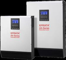 Inverter ibrido EFFEKTA AXM-2000 24V 1600W gestione rete, batterie fotovoltaico