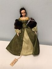7.5� Doll Original Ravca Ann Boleyn Paris New York Composition Head No. 2. 1940s