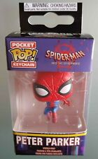Spiderman Peter Parker Portachiavi Funko Pocket Pop Keychain figure