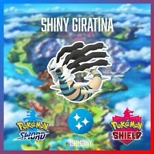 SHINY GIRATINA | BRAND NEW DLC CROWN TUNDRA POKEMON SWORD & SHIELD
