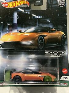 Hot Wheels Aston Martin Vulcan [Exotic Envy] Premium VHTF SEALED UNOPENED 2/5