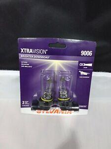 SYLVANIA 9006XV.BP2 9006 XtraVision Halogen Headlight  - White