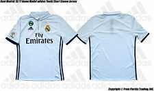 Real Madrid 16/17 Home Model adidas Youth SS Jersey(L)CRY White AI5189 Morata