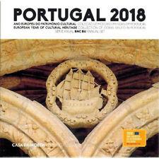 2018 Portugal Standard 8-Coin Brilliant Uncirculated BU EURO Set