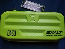 Exalt paintball gun barrel case, universal barrel case lime green carbon case
