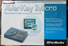 AVermedia AVerkey iMicro 1280X1024 PC/MAC Presentation On Big Screen TV NEW!