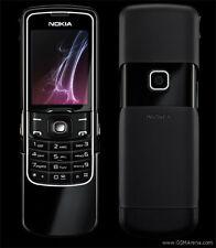 "Nokia 2.0"" 8600 Luna 128MB GSM Unlocked TFT Slider Cell Phone Black"