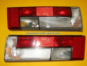 DE TOMASO PANTERA Si REAR TAIL LIGHTS LAMPS LEFT & RIGHT ORIGINAL ALTISSIMO