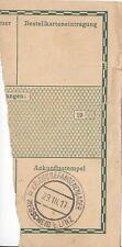 Feldpost 1. WK: Paketabschnitt Kriegsgefangenlager Wegscheid bei Linz 1917