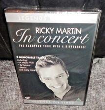 Legends On Stage - Ricky Martin In Concert (DVD, 2005) SEALED