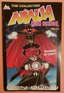 THE COLLECTED NINJA HIGH SCHOOL VOL. 11 ~ VG/FN 1996 ANTARCTIC PRESS COMIC TPB