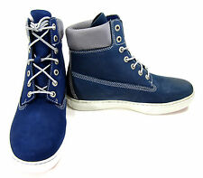Timberland Shoes 6 Inch Premium Blue/White Boots Size 8