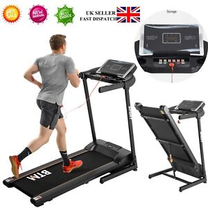 Electric Treadmill Hydraulic Folding Motorized Running Machine/USB & MP3