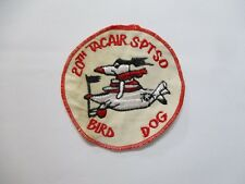 Patch_ US Air Force 20th Tactical Air Support Squadron BIRD DOG PATCH