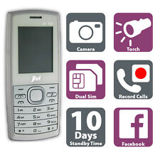 White Cheap Mobile Phone - Dual Sim Card, Call Recording, Radio, Camera Unlocked