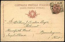 Italy 1875, 10c Stationery Card, Milano #C38463