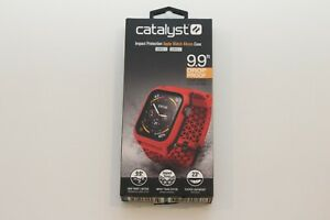 Catalyst Impact Case and Band Apple Watch Series 5/4 44mm - Red OPEN BOX