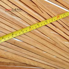 "Top Quality 50 strips hardwood dollhouse floor cover 19.5""x16""  PINE  finish 8mm"