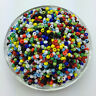 Wholesale DIY 1000pcs 2mm MIX Czech Glass Seed Spacer beads Jewelry Fitting