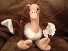 "Ty Beanie Baby ""Stretch"" the Ostrich (Errors)"
