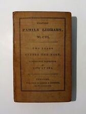 1840 TWO YEARS BEFORE THE MAST Dana 1st Edition 2nd Issue Harpers Family Library