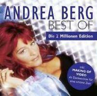 """ANDREA BERG """"BEST OF DIE 2 MILLIONEN EDT"""" CD+DVD NEU"""