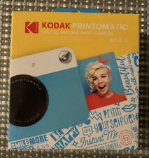 Kodak PRINTOMATIC Digital Instant Print Camera (Blue), Full Color Prints