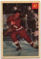 1954-55 Parkhurst Hockey #47 Keith Allen RC VG-EX Condition (*2020-13)