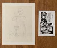 EC COMICS VAULT KEEPER DRUSILLA ORIGINAL ART by JOHNNY CRAIG TALES CRYPT HORROR