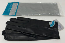 Van Raalte Ladies Gloves Black Kid Leather Size 6 Women's 8� Nos New 19-1402R