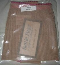 Secrets in Lace Bettie Page Shaping Pantie Beige.Size Small.New!