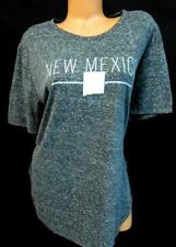 Royce brand gray new mexico state print crew neck short sleeve tee top 2XL
