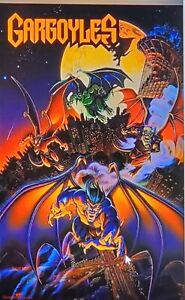 Vintage Original GARGOYLES Poster from 1990s IN WRAP
