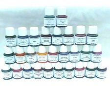 15(1/4) Liquid Dyes & Pipettes, for Candles, Tart Melt, Lamp Oil, Aroma Beads