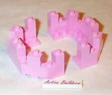 2x Lego Castle PINK Turret Top 8759 Roof
