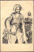 yemen, ADEN, Arab Prince with Sword (ca. 1899)