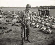 WWII Photo German Fallschirmjäger Paratrooper WW2 World War Two Wehrmacht