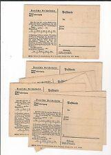 24/556 AK carte postale 8 x allemande Dr eilgut biens manutention gare DM