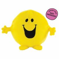Mr Men Happy Memory Foam Squeezy Squishy - Stress Ball Toy Gift Soft Cute NEW
