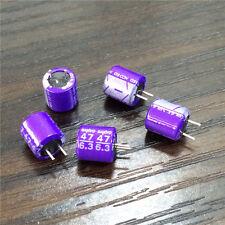 200pcs Sanyo solid capacitor 6.3V47UF 6.3V SA 6X6.5mm motherboard PC repair