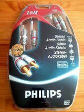 PHILIPS - câbles audio stéréo pour Ampli...