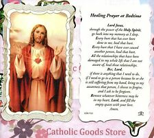 Healing Prayer at Bedtime - Scalloped trim - Paperstock Holy Card