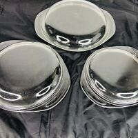 Lot of 3 Pyrex Replacement Lids 682-C 683-C 684-C Clear Glass