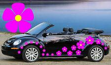 32 Rosa Pensamiento Flor coche Autoadhesivos, Stickers, alquiler de gráficos, Daisy pegatinas
