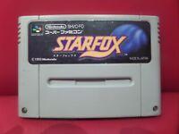 STAR FOX JAPAN SNES SFC Nintendo Super Famicom Japanese SHVC-FO