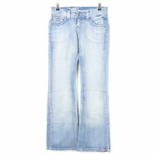 EDC BY ESPRIT Jeans Bootcut PLAY Hellblau Gr. 34 Long